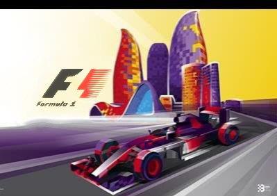 Афиша Москва Гран-При Азербайджана формулы 1 2019