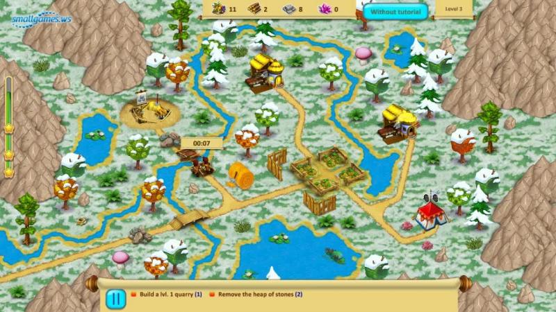 Gnomes Garden 6: Christmas Story (Геймплей)