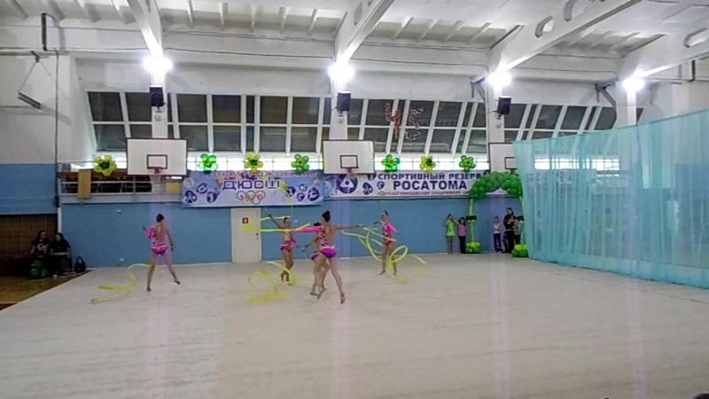 Кубок Ольги Гладских в Лесном.2016