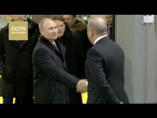 Путин посетил Тверской вагоностроительный завод