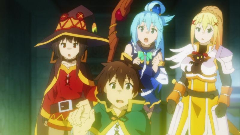 Богиня благословляет этот прекрасный мир Kono Subarashii Sekai ni Shukufuku wo 2 сезон 11 серия OVA Ancord Trina D BDRip