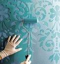 Покраска через трафарет Технология покраски стен через трафарет известна со времен Древнег…
