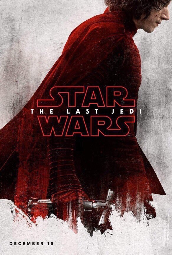 Звёздные войны. Эпизод 8: Последний джедай / Star Wars VIII: The Last Jedi [2017]: Постеры персонажей фильма «Звездные Войны: Последние Джедаи»