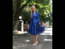 Елена Крыгина в платье Terekhov Girl FW18
