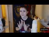 Olyashaa сказала свое мнение про Карину Стримершу (Няшка отсасываетпошлая малышка домохозяйка ,минск не зрелые