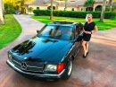 SOLD 1984 Mercedes 500 SEC Euro coupe for sale by Autohaus of Naples (239)263-8500