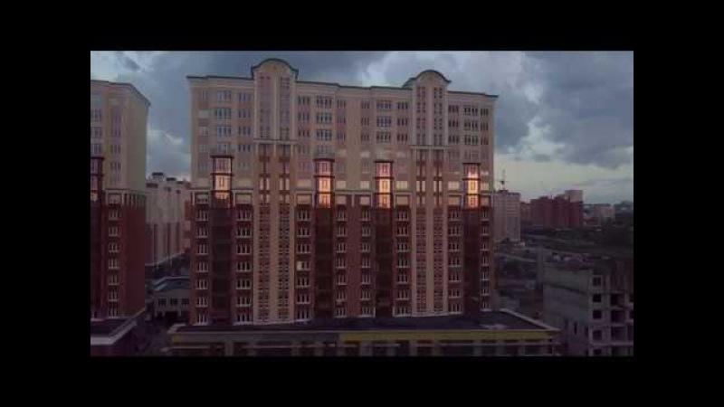 Вечерний Кемерово с квадрокоптера