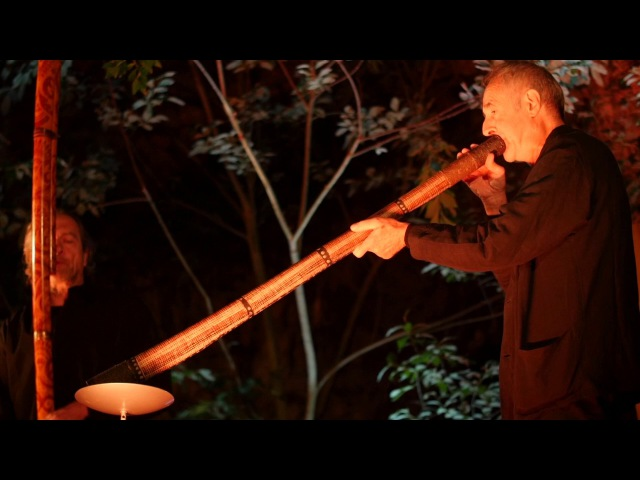 Didgeridoo v jeskyni 2017 - WILLI GRIMM GÉRARD WIDMER