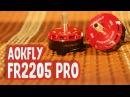 ✔ Aokfly FR2205 PRO 2650kv Thrust Test