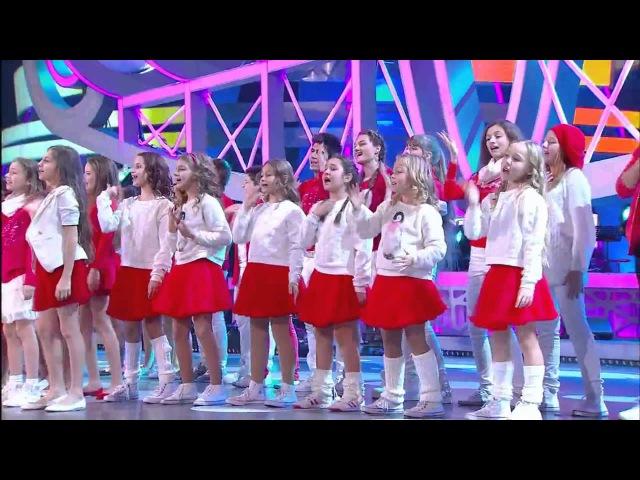 Детский хор Игоря Крутого и ПЦ Эколь - Нарисуй - Детская Песня Года 2015 - ww.ecoleart.ru