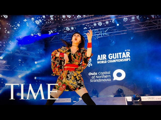 Air Guitar World Championships In Finland: Watch The Musicians Compete For Title | TIME