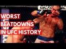 Worst Beatdowns in UFC History - TOP 5 worst beatdowns in ufc history - top 5