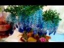 Дерево ГЛИЦИНИЯ из бисера..мастер класс🎆подробно
