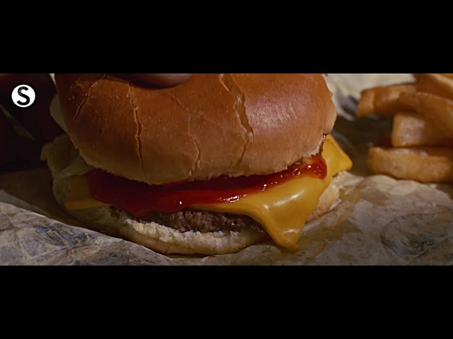 Pulp Fiction Cheeseburger Scene