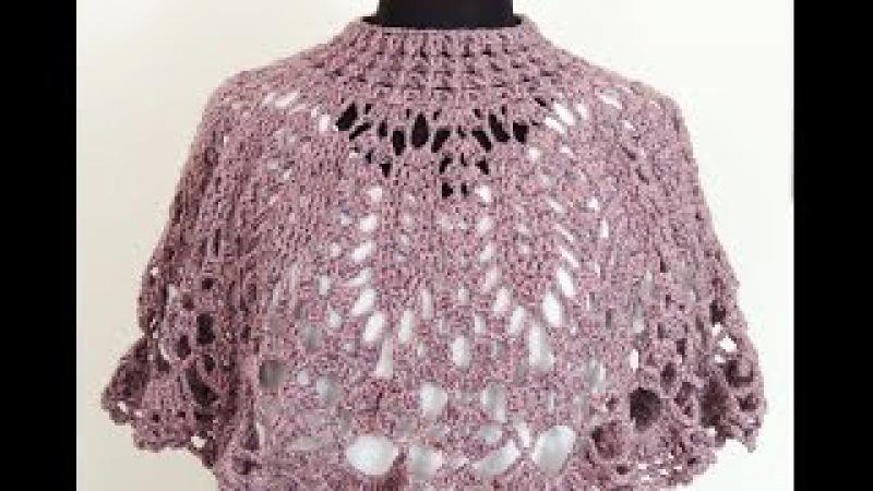 Crochet: Capa Cuello 2