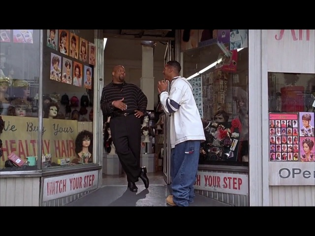 Я тебе еще бесплатно с жопы волос накину - Марлон Уайанс в фильме Без чувств (Senseless) , 1998