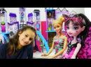 Eğlencelioyunlar. Barbie ve MonsterHigh MACERALARI! oyuncakbebek videolar