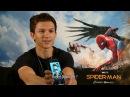 Человек паук Возвращение домой Интервью