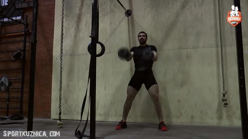 Топ 5. Самые мощные упражнения с гирями!