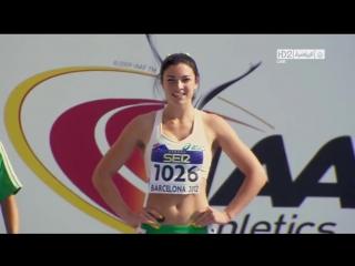 Позитивная бегунья из Австралии