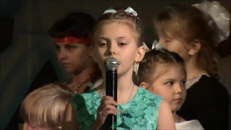 Детский хор воскресной школы г Невеля Рождество белая пороша