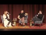 «Вопрос - Ответ» с Крисом, Джереми и Элизабет на специальном показе фильма «Ветреная река» (29/11/17)