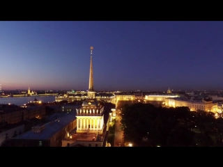 Awesome Saint Petersburg (с квадрокоптера DJI Inspire)