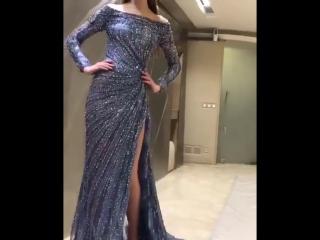 Элегантное вечернее платье.