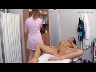 Gyno-x sylvia (part 2) [medical fetish, gyno exam, masturbation,toys]