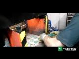 Технология изготовления тормозных колодок NEWFREN (Италия)