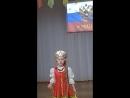 Конкурс чтецов, посвященный Родине. Моя внучка Ева Рзаева 5 лет.