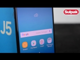 Смартфон Samsung Galaxy J5 2017 Black распаковка (www.sulpak.kz)