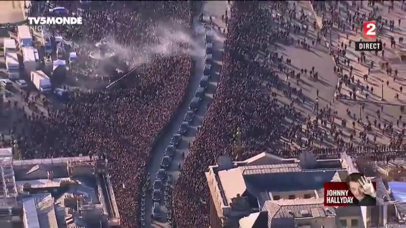 Hommage Populaire à Johnny Hallyday