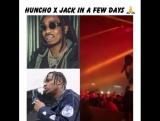 Last night at Travi$ Scott's concert he announce that Huncho x Jack