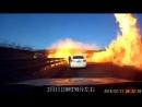 ДТП жесть Китай Перевернулся грузовик с сжиженным газом произошла утечка результат ужасающий