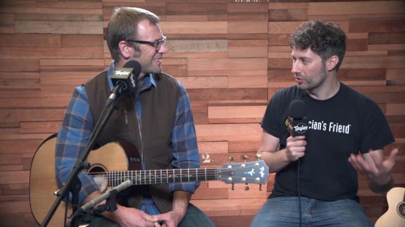 Taylor Guitars V-Class Bracing with Andy Powers - Winter NAMM 2018