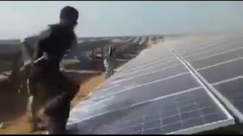 Les panneaux solaires ça vole le soleil ce n'est pas halal