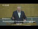 Жириновский говорит: (Болеют только бездельники)