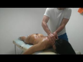 Общий массаж, для фитнес тренера