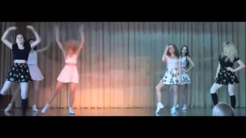 Сделали с девочками танец Между нами тает лед - nicebeatzprod. (очень красивая в
