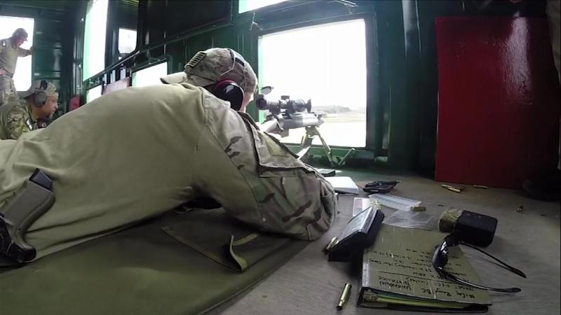 FBI SWAT team conducting sniper training