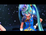 [mmd] Magical girls - Miku, Gumi, Luka, Neru, and Teto - Sentai Slender Legs