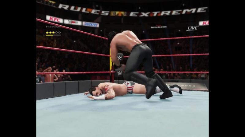 Матч за титул FVW (Seth Rollins vs CM Punk)