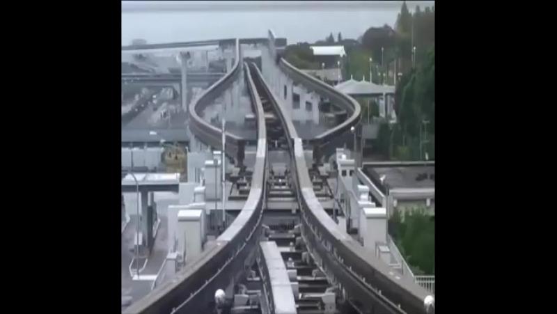 Японская монорельсовая дорога