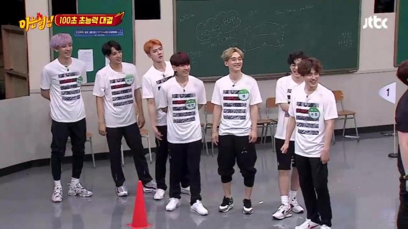 170722 EXO 'Knowing Brothers' [신곡 공개] 매력 뿜뿜☆ 엑소 Ko Ko Bop♪ (사랑해요 EXO-L) 아는 형님 85회