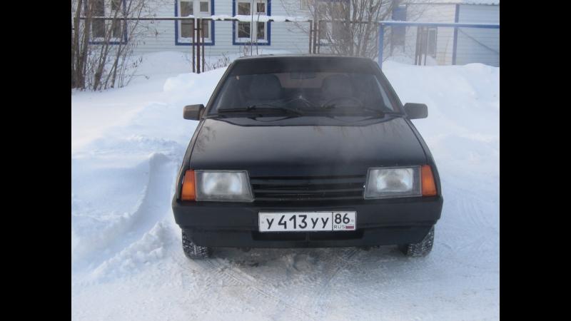 Черная ВАЗ 21093