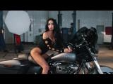 Harley Davidson & Girl's (backstage)