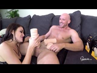 Kissa sins [hd 1080, big ass, natural tits, deep throat, brunette, sex toys, porn 2018]