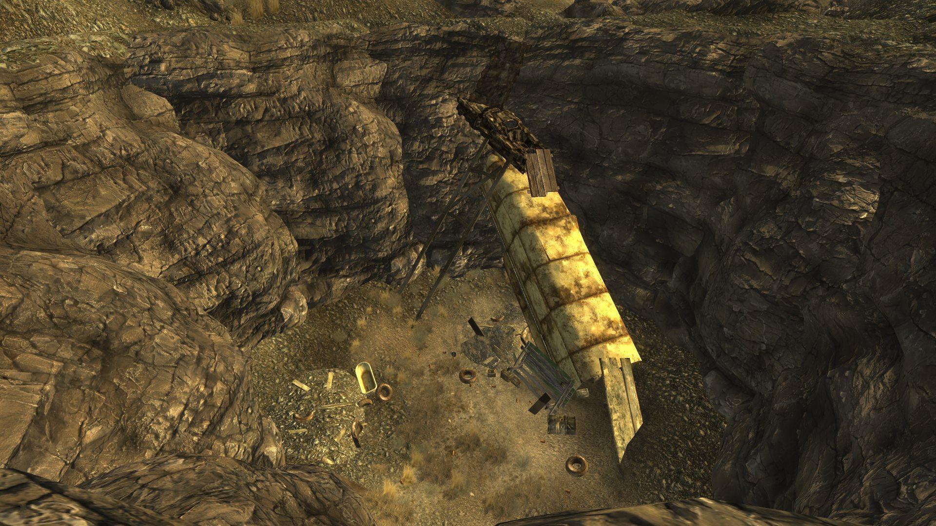 Разработчики Fallout 4: New Vegas продолжают работу над игрой, и на этот раз они предоставили два скрина для сравнения: