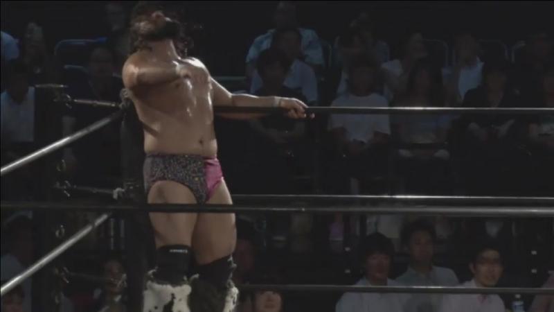 Akito, Diego, Konosuke Takeshita vs. Manabu Soya, Shigehiro Irie, Yuji Okabayashi (DDT - BGF 2017 ~ ALL OUT DAY ~)